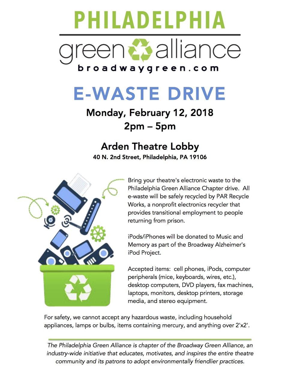 Philadelphia Green Alliance - E-Waste Drive 2018.jpg