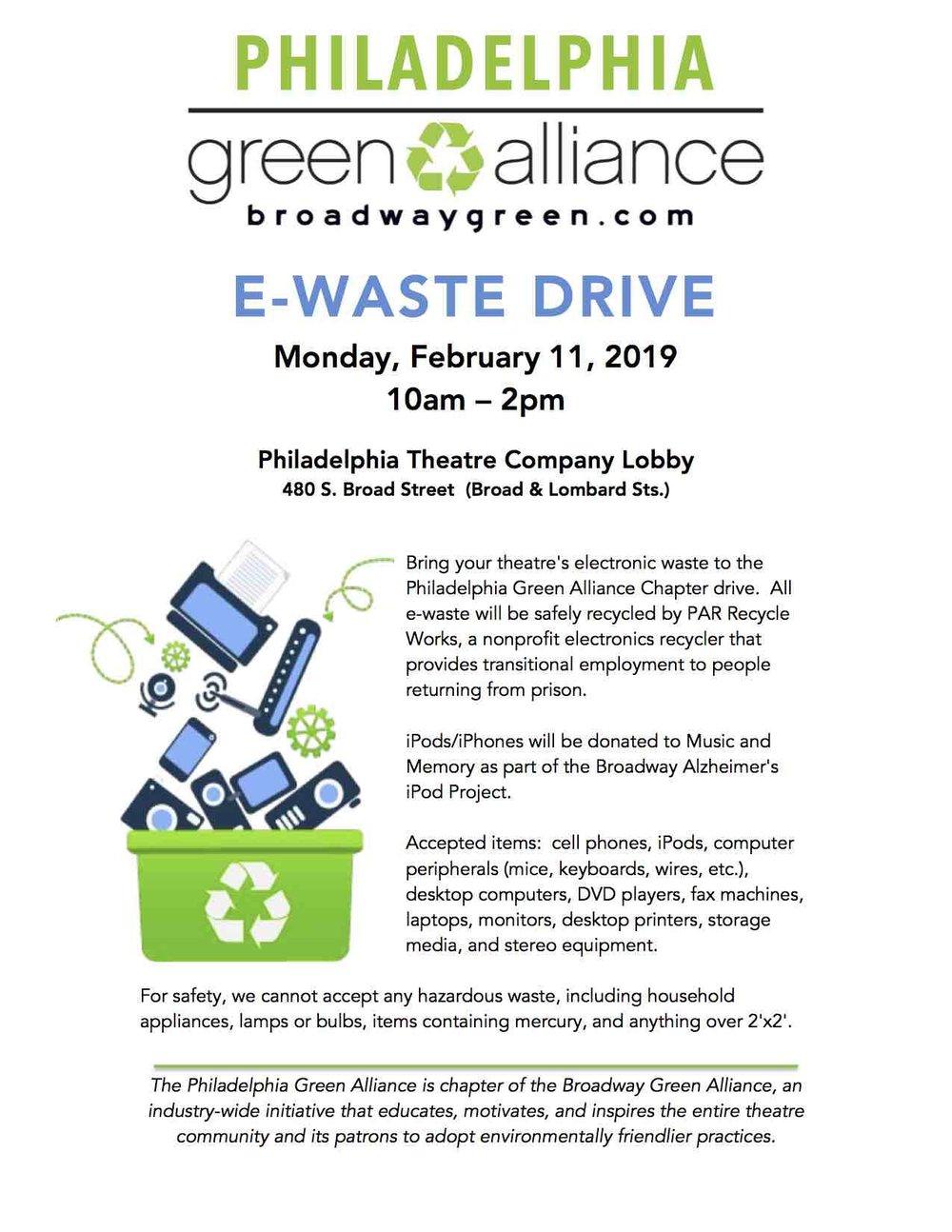 Events — Philadelphia Green Theatre Alliance