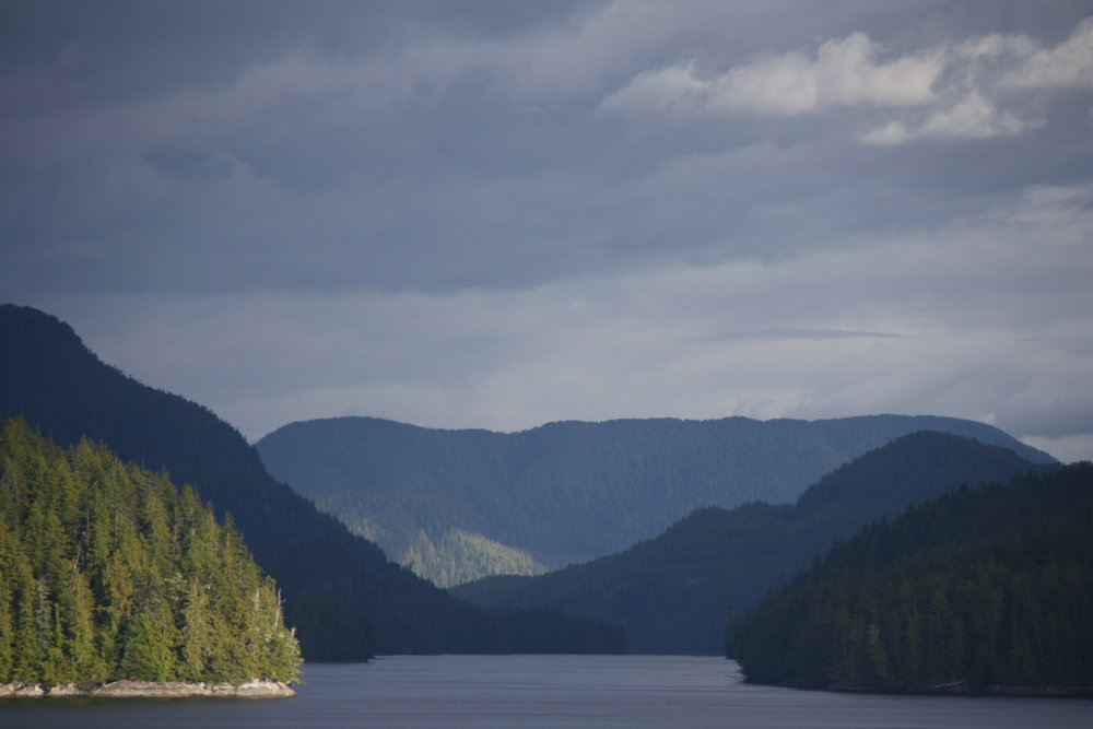 The lead into Ketchikan was remarkable!