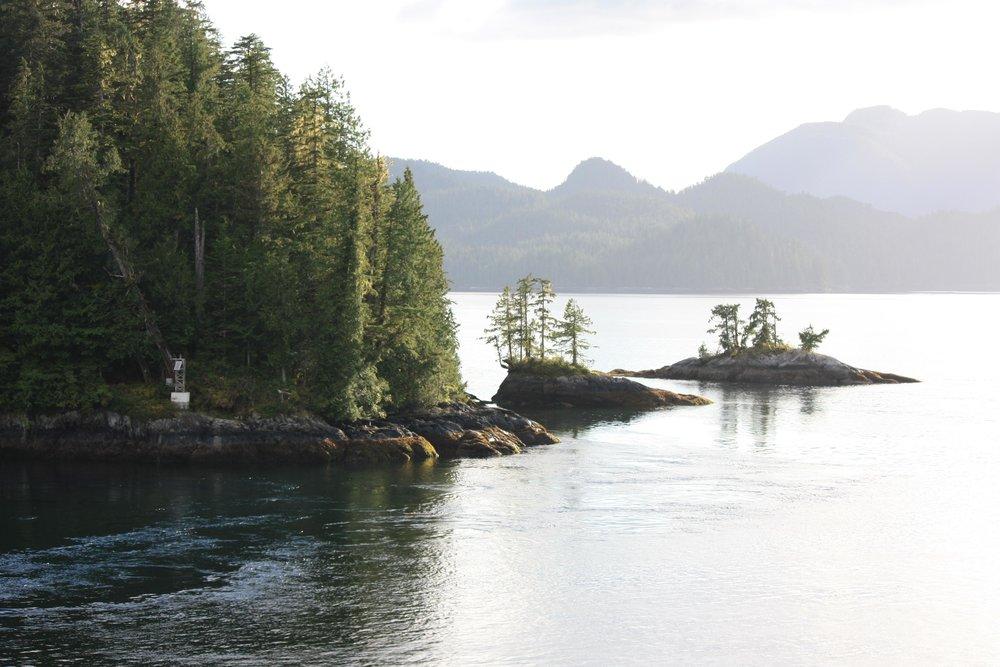 Juneau is just around the corner.