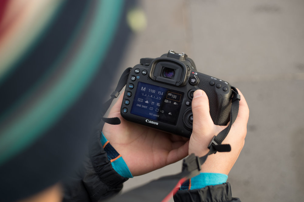 Test out your settings with some test shots in different locations along your hyper-lapse route.