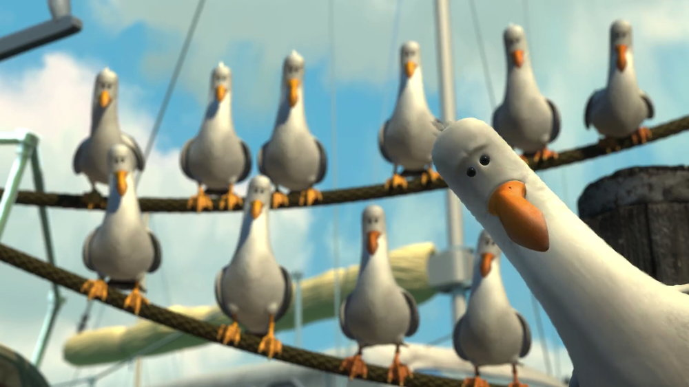 Don't be like the Seagulls off Finding Nemo. Bring snacks!