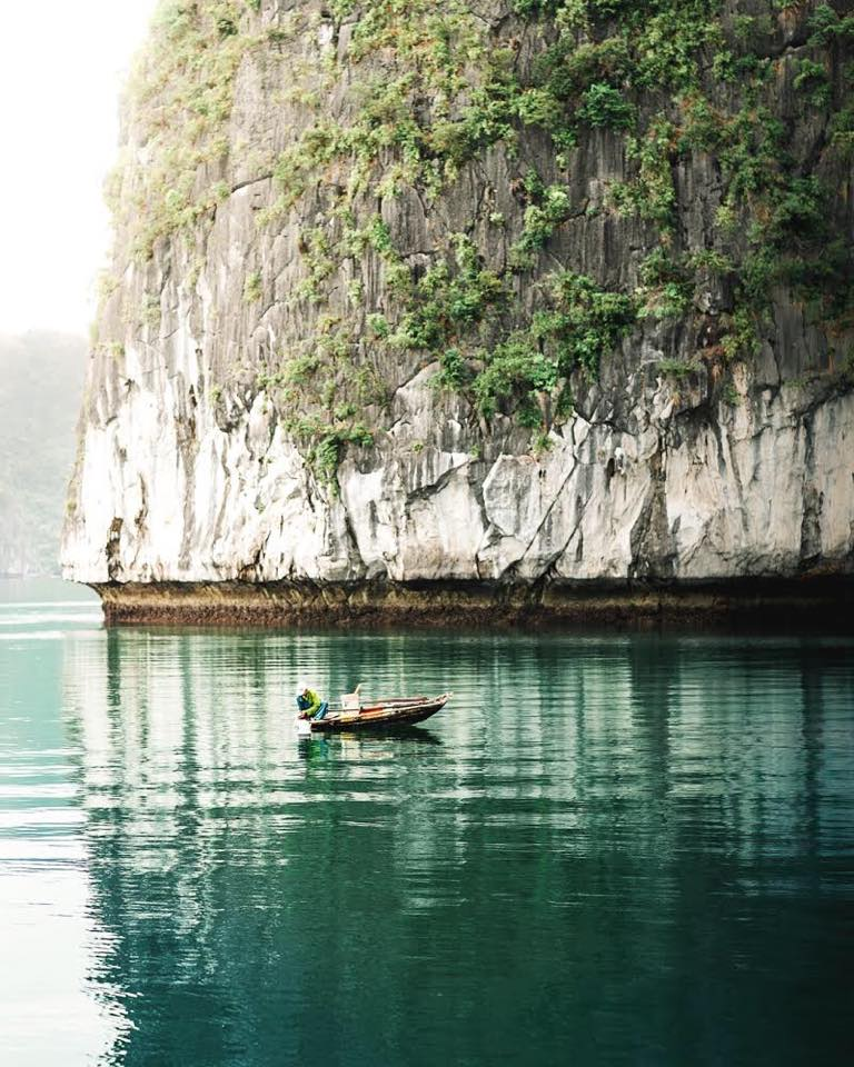 Sunrise in Ha Long Bay is cleansing for the soul.