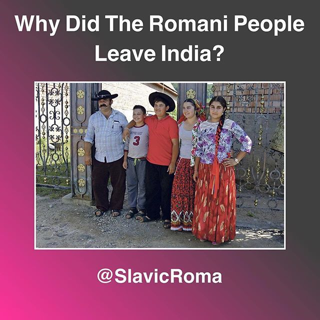 @slavicroma drops KNOWLEDGE on the #Romani culture, current events in the community, and accurate historical facts on our ancestry DAILY. I've been meaning to post this publicly for a fkn while because I send people to this account in my DMs all the time. There isn't enough information that's easily accessible on our heritage- especially here in the US- so I want to use my platform to spread these sources.  _ If you have any dope stories or questions about the history or culture: hit me in the DM! 🚀 _ Also S/O prominent Romani producer @jakoban.andrei for connecting across the planet on some HEAT for the culture. 🔥🔮4️⃣🛸 _ #Romani #Romanichal