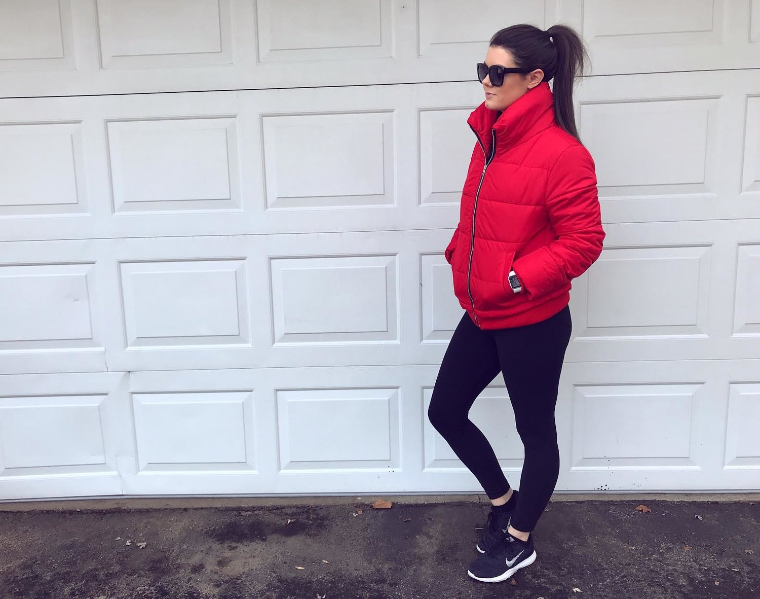 1d6d586ab54 A little athleisure look! I have my favorite Lululemon Align II Pant on  with a