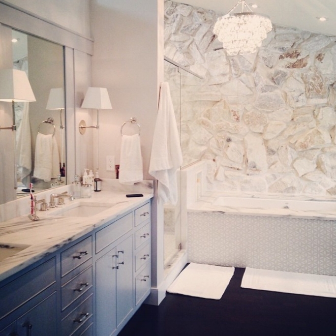Classic white bathroom design by Jillian O'Neill.