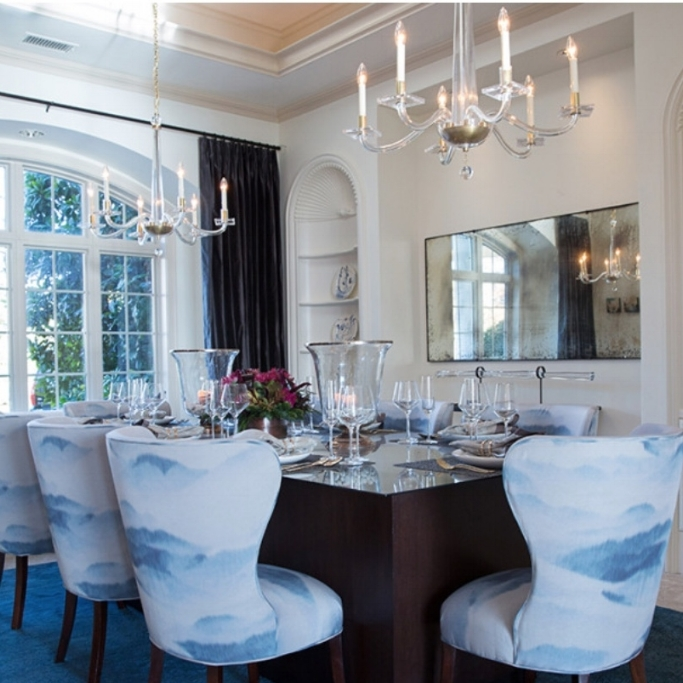 Dining room by Jillian O'Neill. Modern classic interior design inspiration.
