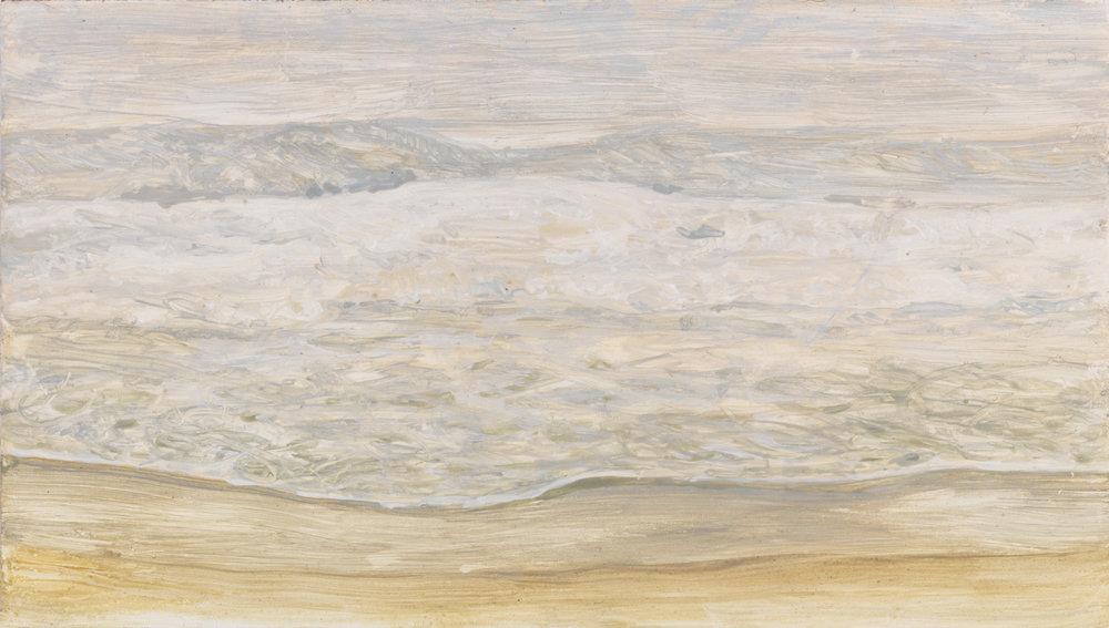 """East Hampton, 2005, acrylic on panel, 4.5"""" x 8"""""""