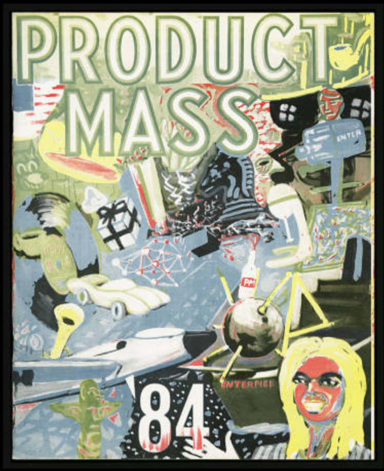 Product Mass , Bookspace Publication No. 10, Chicago, IL, 1984.