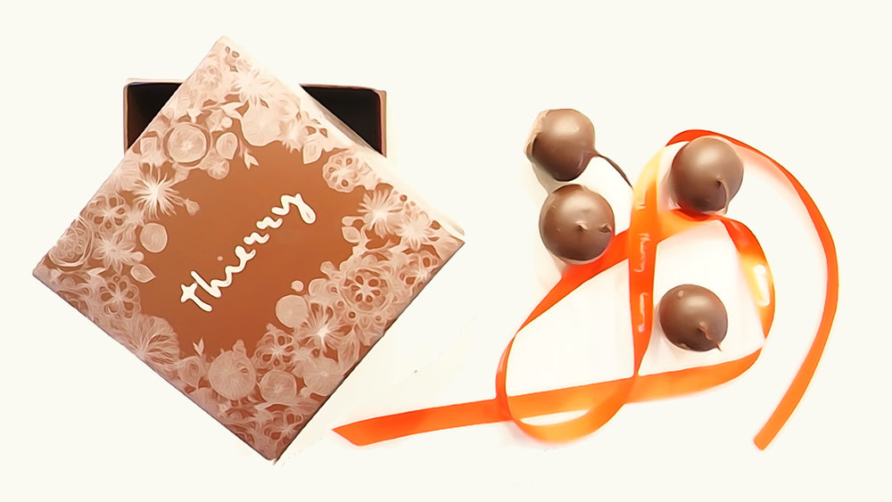 Thierry's dairy-free dark chocolate-dipped cherries are affordable luxury.