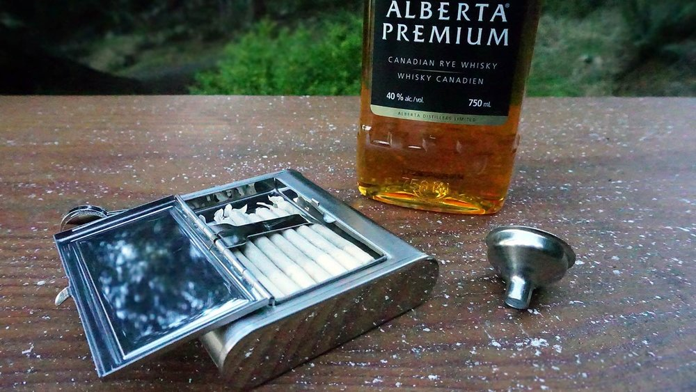 Revelry's 'The Accomplice' flask is the ultimate West Coast travel companion.