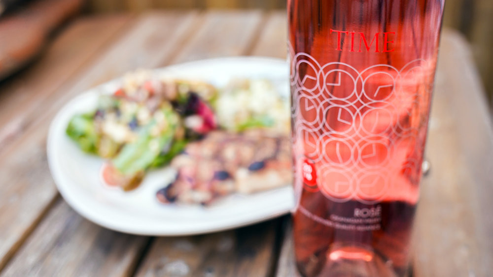 The 2017 TIME Winery Rosé gives Donita Dyer that schoolgirl excited kind of feeling.