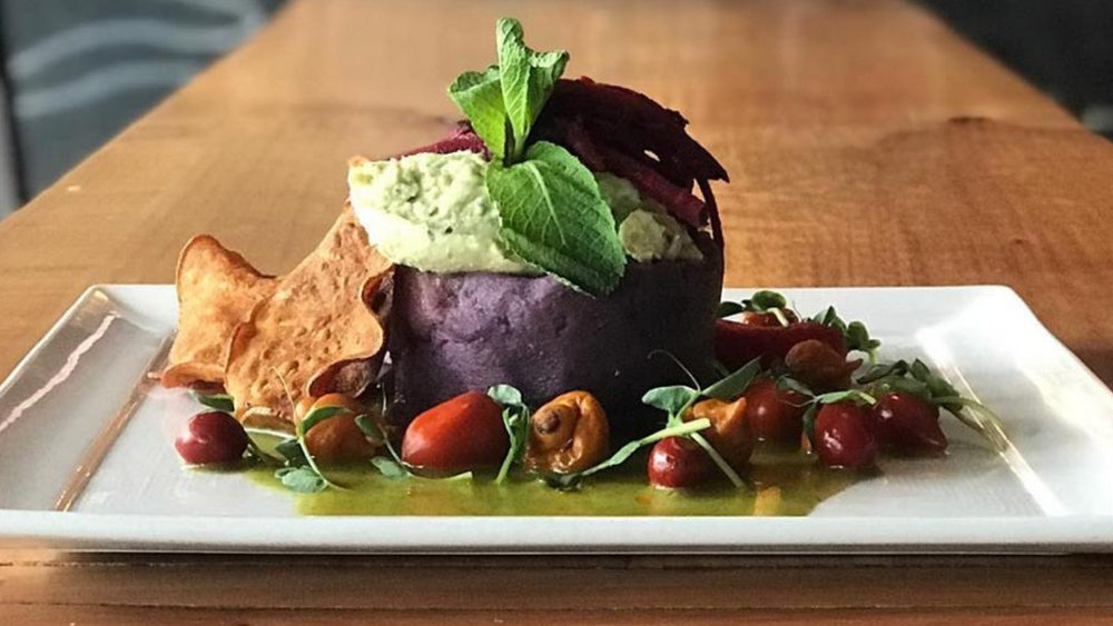 Vancouver's Chicha Restaurant offers a delicious plant-forward menu for Dine Out Vancouver 2019.  (Photo courtesy of Chicha Restaurant.)