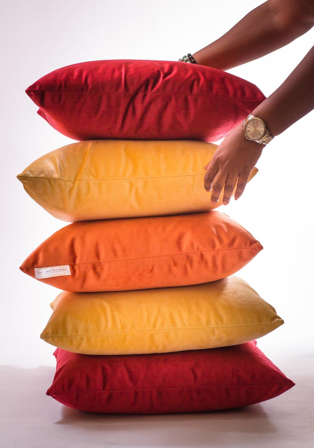 Gladys Velvet Pillow Collection
