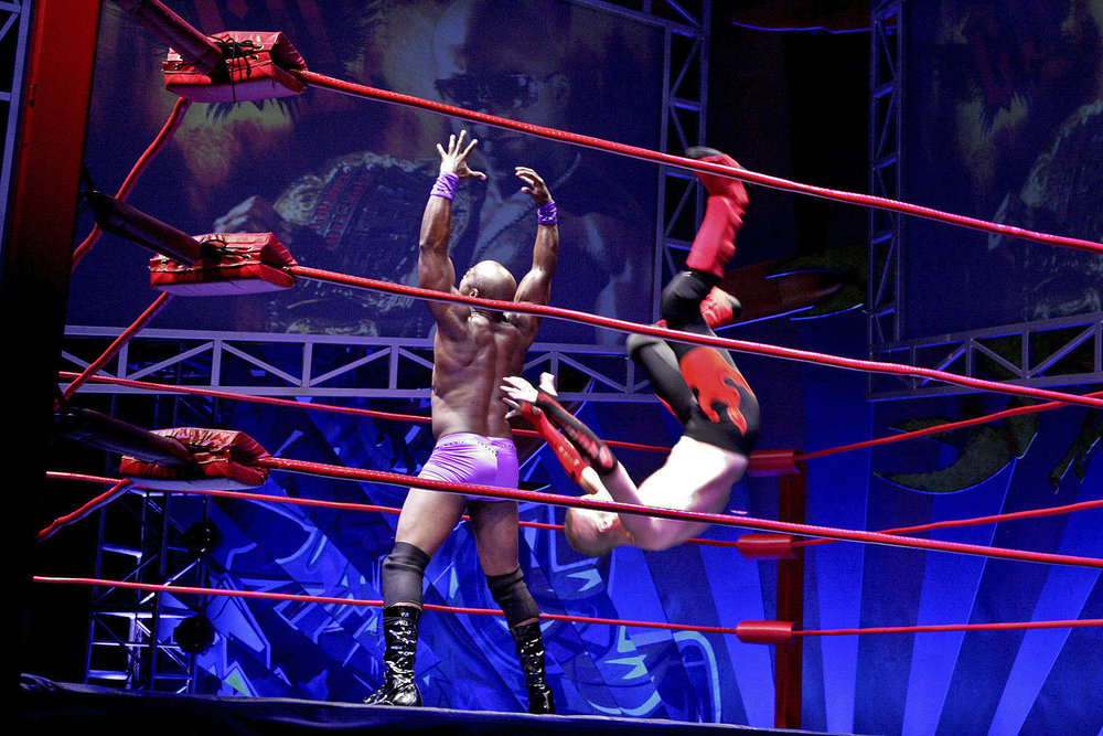 World premiere of  The Elaborate Entrance of Chad Deity  at Second Stage Theater in NYC   License Play