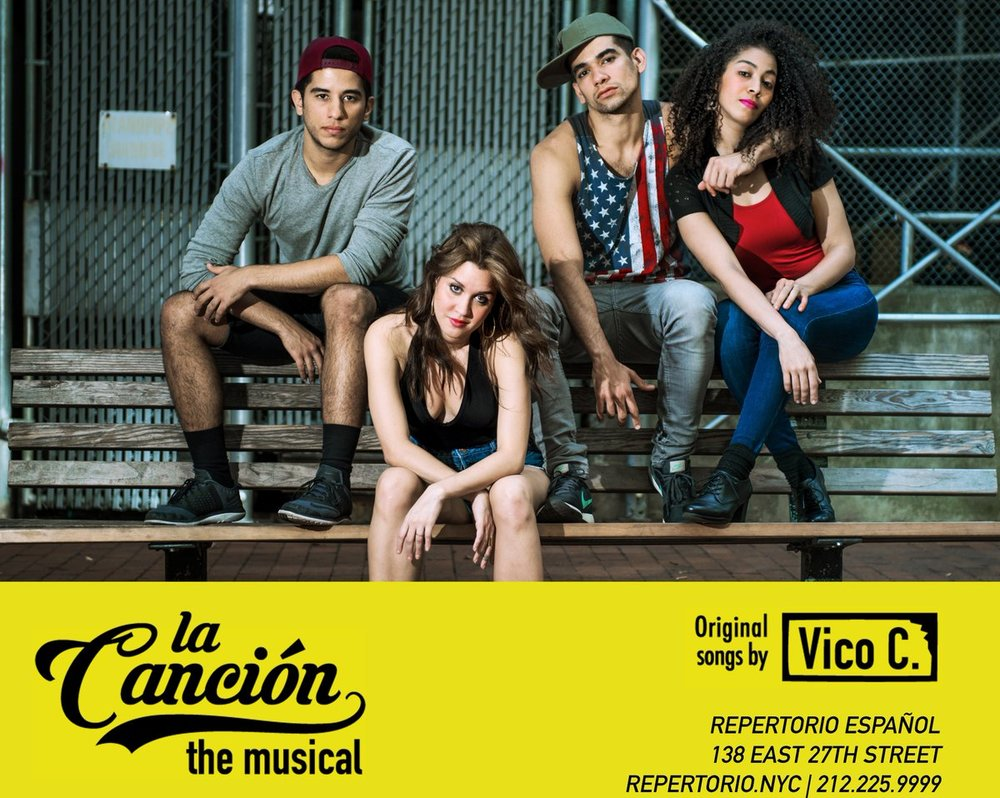 La Canción , by Cándido Tirado, Songs by Vico C, Directed by Edward Torres, currently running at Repertorio Español   Buy Tickets