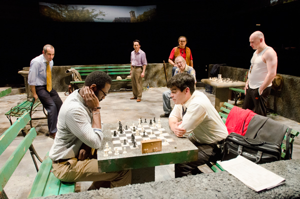 World Premiere of  Fish Men by  Cándido Tirado, Directed by Edward Torres at the Goodman Theatre (2012)
