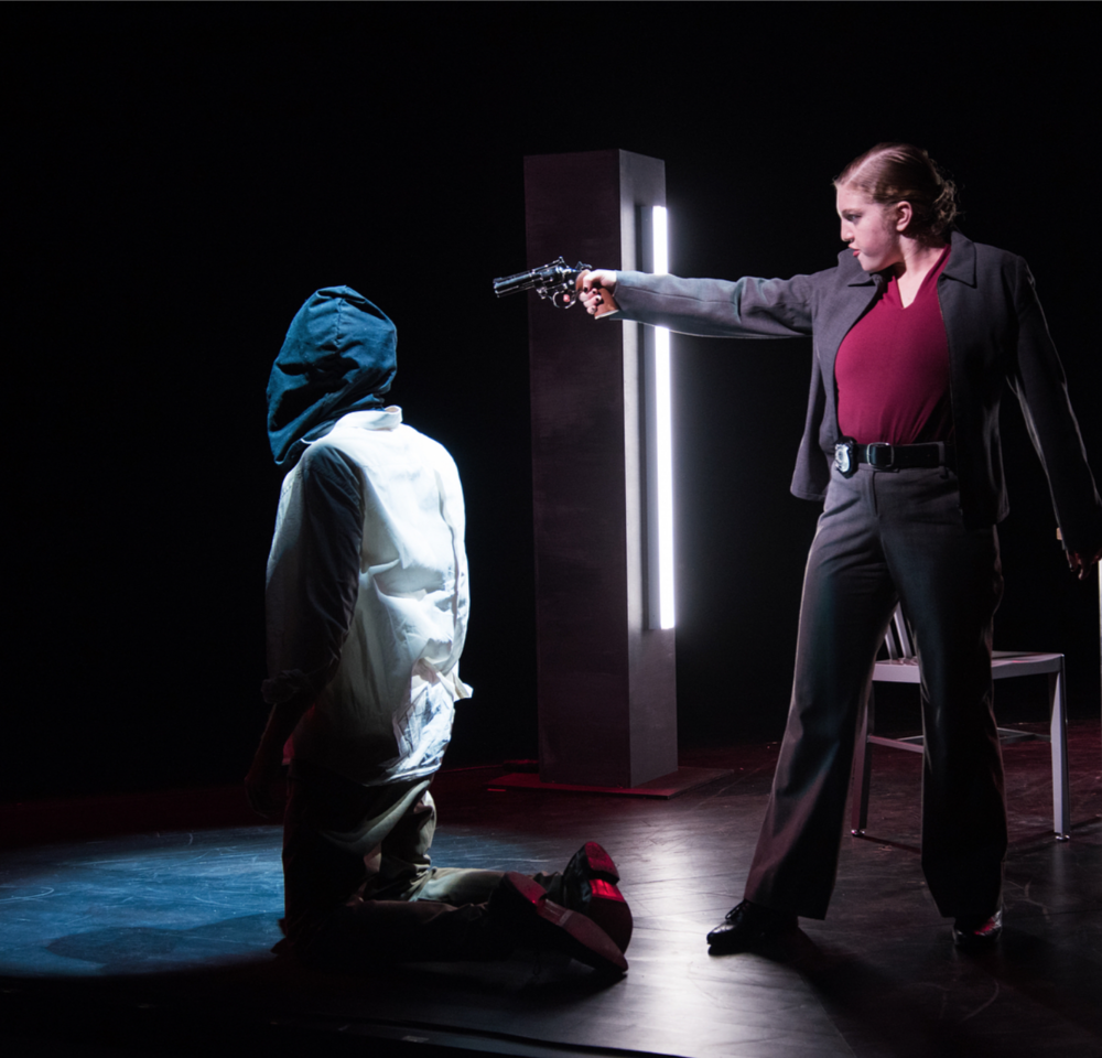 The Pillowman  by Martin McDonagh, Directed by Edward Torres at Wesleyan University in Middletown, CT (2017)