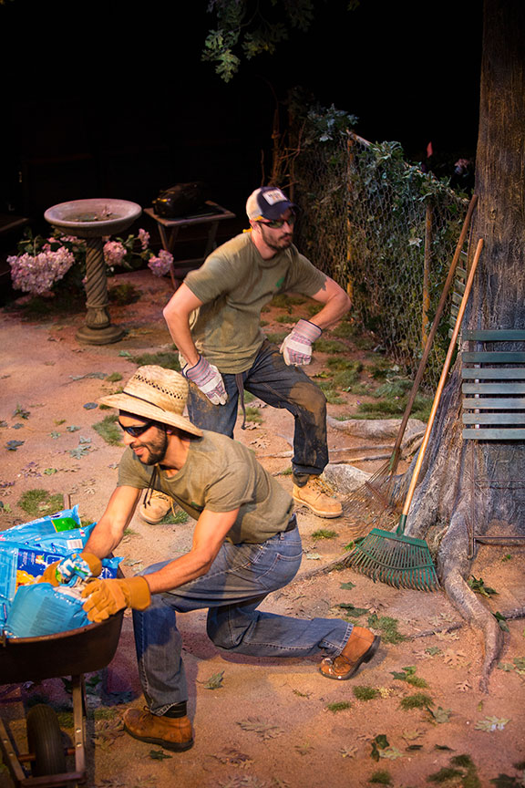 West Coast Premiere of  Native Gardens  by Karen Zacarias, Directed by Edward Torres at The Old Globe Theatre in San Diego, CA (May 26-June 24, 2018).