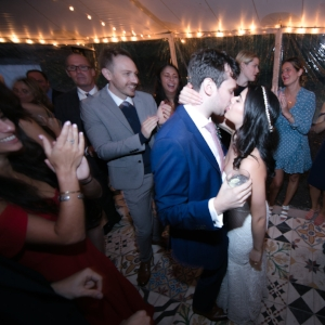 DJ Ali Hudson Valley - Megan and Andrew kiss.jpg