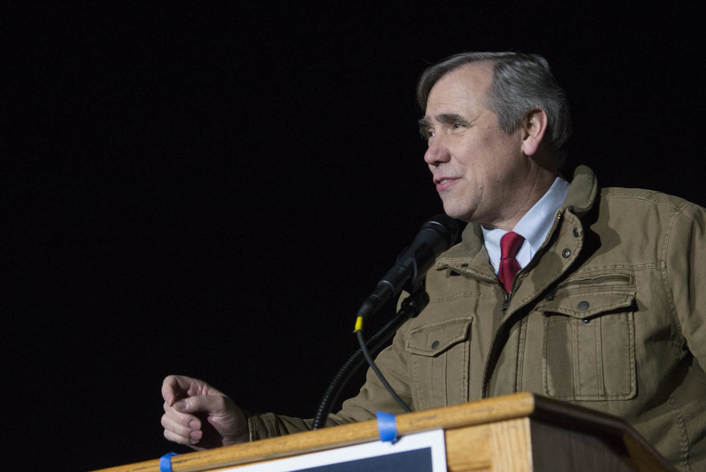 Jeff Merkley, Senator from Oregon