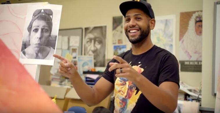 Visual Arts - Discover how a single master class semester created a lasting community bridge to artistry, empathy, and empowerment. Watch what happens when community and the arts align!