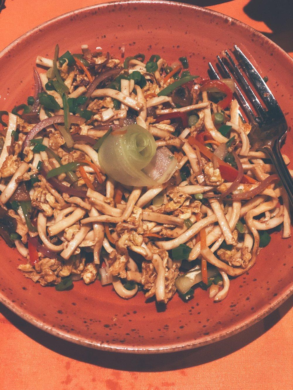 Main dish side- Lo Mein