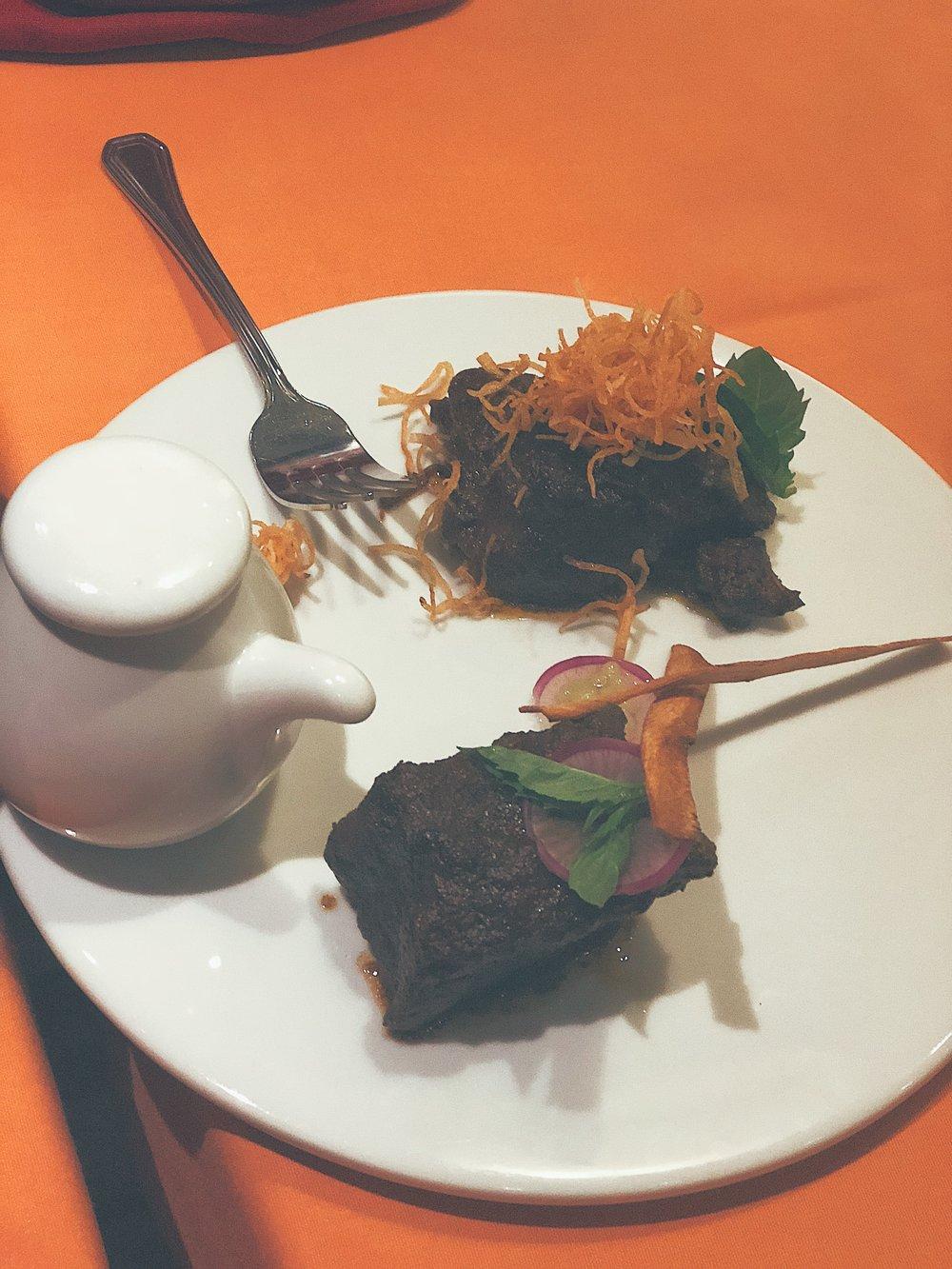 Main dish- Beef Short-rib