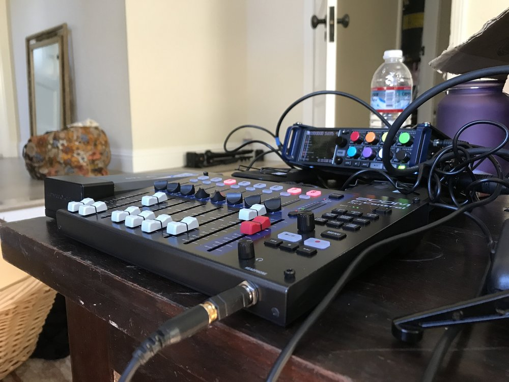 """Production Sound Mixing for Tony Gapastione (SonCity Media)'s short film """"SELF I.E.,"""" filming in Palo Alto, CA in October 2017."""