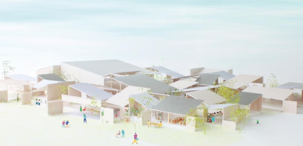 多賀町中央公民館設計者選定コンペ - 上記設計コンペティションにおいてo+hが最優秀賞に選ばれました。http://www.town.taga.lg.jp/contents_detail.php?frmId=127