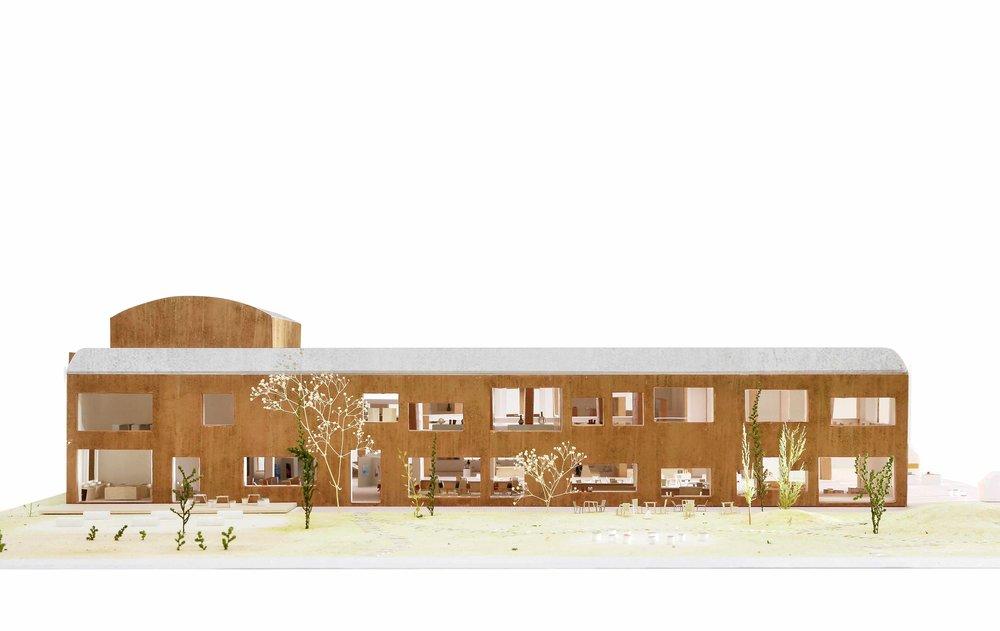 福智町立図書館・歴史資料館設計業務者選定プロポーザル - 上記プロポーザルで最優秀賞に選ばれました。http://www.town.fukuchi.lg.jp/annai/oshirase/150323_1.html