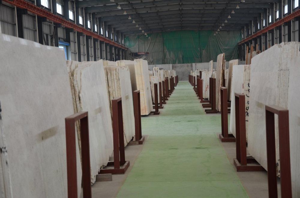 White Pearl slabs factory.JPG