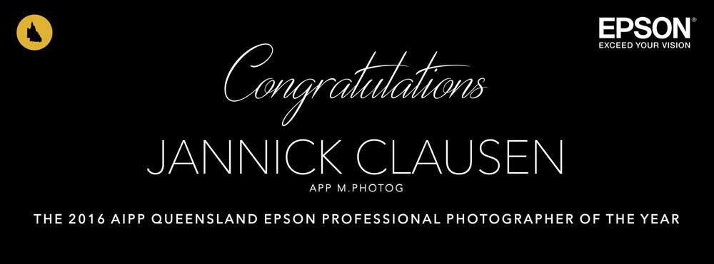 Awards stuff - In 2016 I was extremely lucky to win the title of AIPP Queensland Epson Landscape and Professional photographer of the year.
