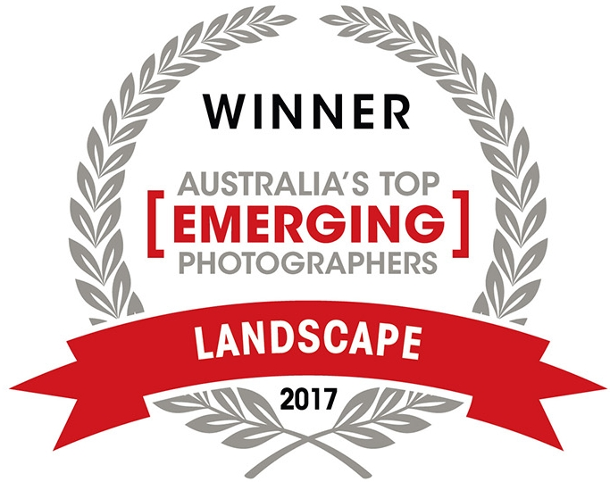 Top Emerging - In 2017 I was awarded Australia's Top Emerging Landscape Photographer in a competition run through Capture Magazine.