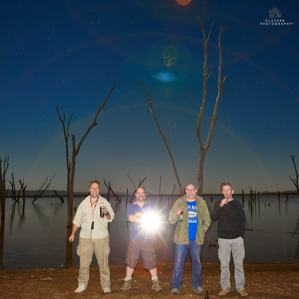 The Alien - I love getting away on photography trips with my mates. How good is that lens flare. P.s. forgot blue couch.