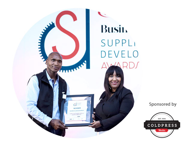 SAPPI south africa - SAPPI South Africa scored highly for their clearly articulated strategy to transform women-led businesses. As a result, over 60% of their contractors, and majority of their small suppliers are women. Their program was initiated in 1983, and they work with 4000 suppliers, and 204 contractors.