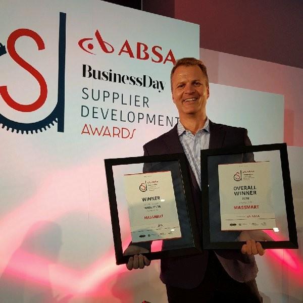 Von Stander - Group SD Executive, Massmart (Overall Winner 2018)