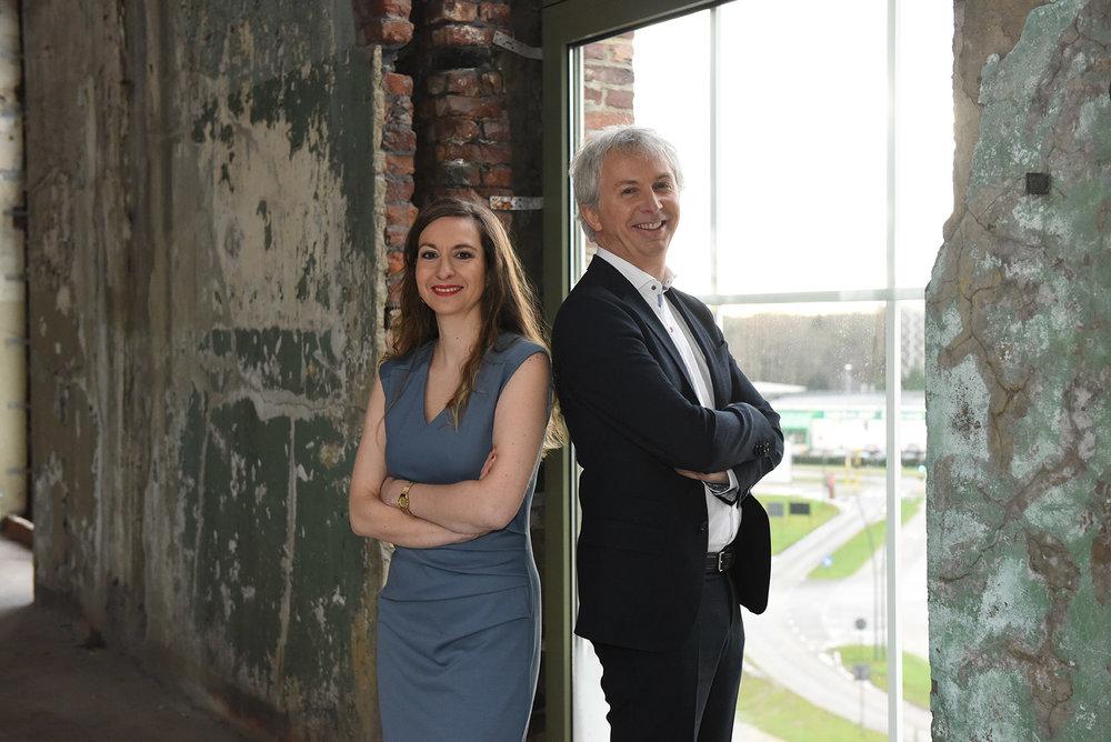 Sabrina Fiorelli en Tom Arts, experts in arbeidsrecht.