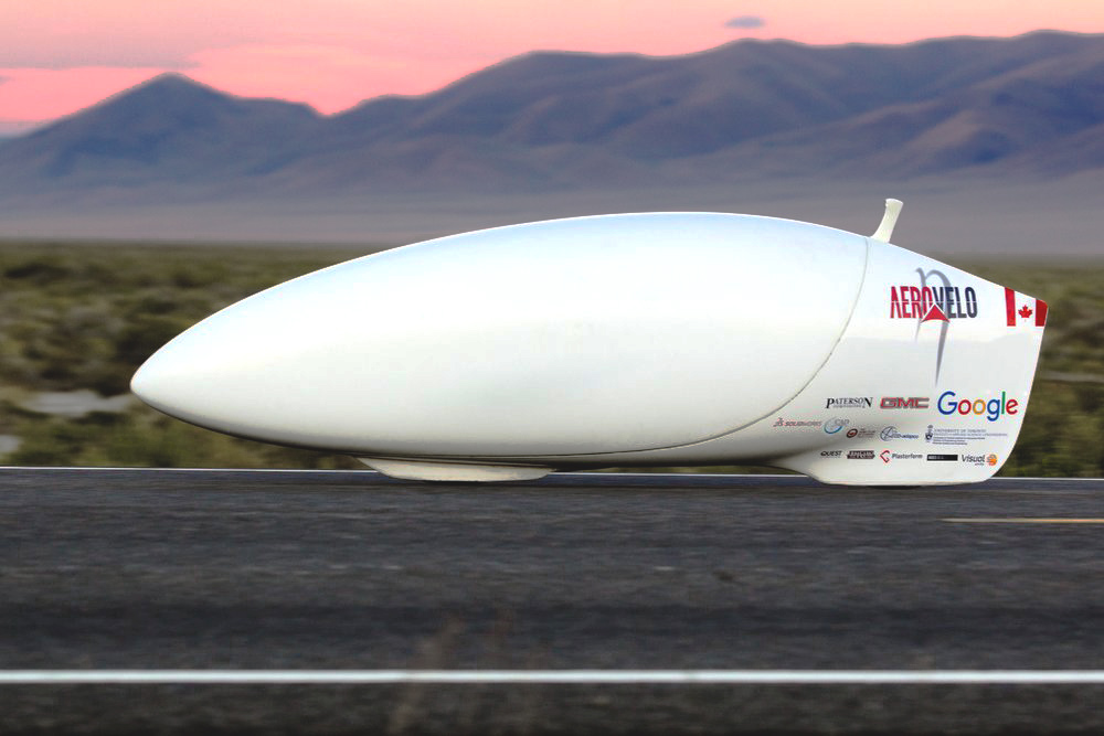 Aerovelo Eta  - World Record Holder Human Powered Vehicle