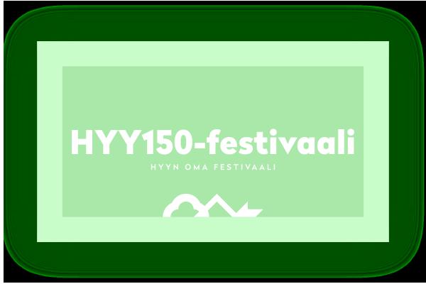 HYY150-festivaali - HYYn oma festivaali