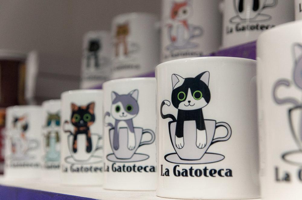 La Gatoteca - detalle tienda