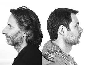 Alain Picard  (left) - Copywriter  Nicolas Harlamoff  (right) - Art Director