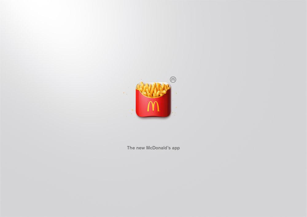 McDonald's Mobile App TBWA\Zürich  Bronze Cannes Lions 2017