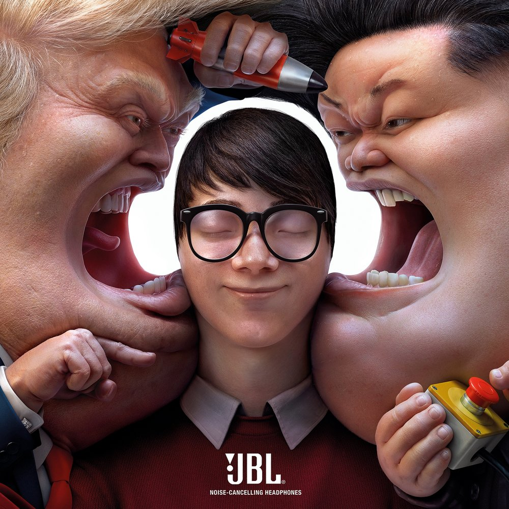Block Out The Chaos 2 Cheil Worldwide Hong Kong  2 Bronze Cannes Lions 2018