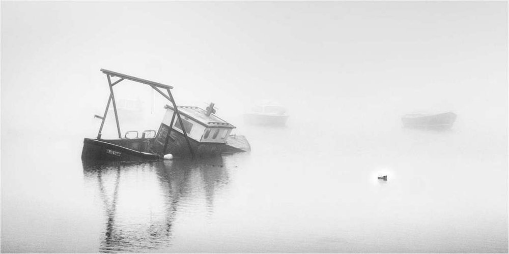 243_Misty Morning Keyhaven_Keith Prior