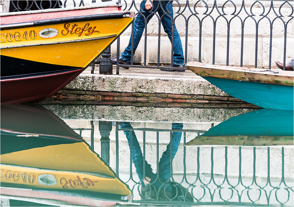 Triangles on Canal © Jim Young