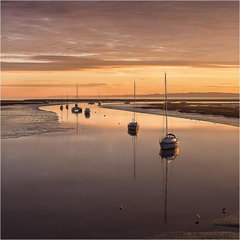 02 Keyhaven Sunrise © John Taylor
