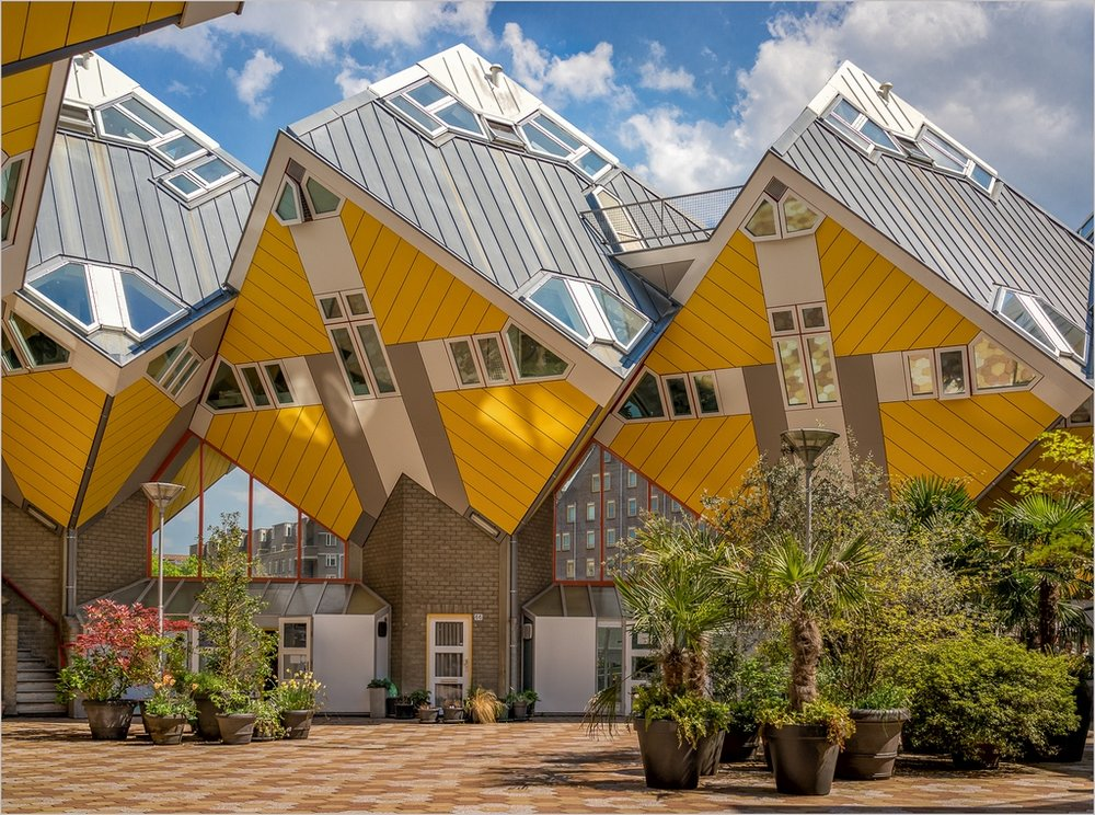 37 Cube House Rotterdam © Phil Beard CPAGB