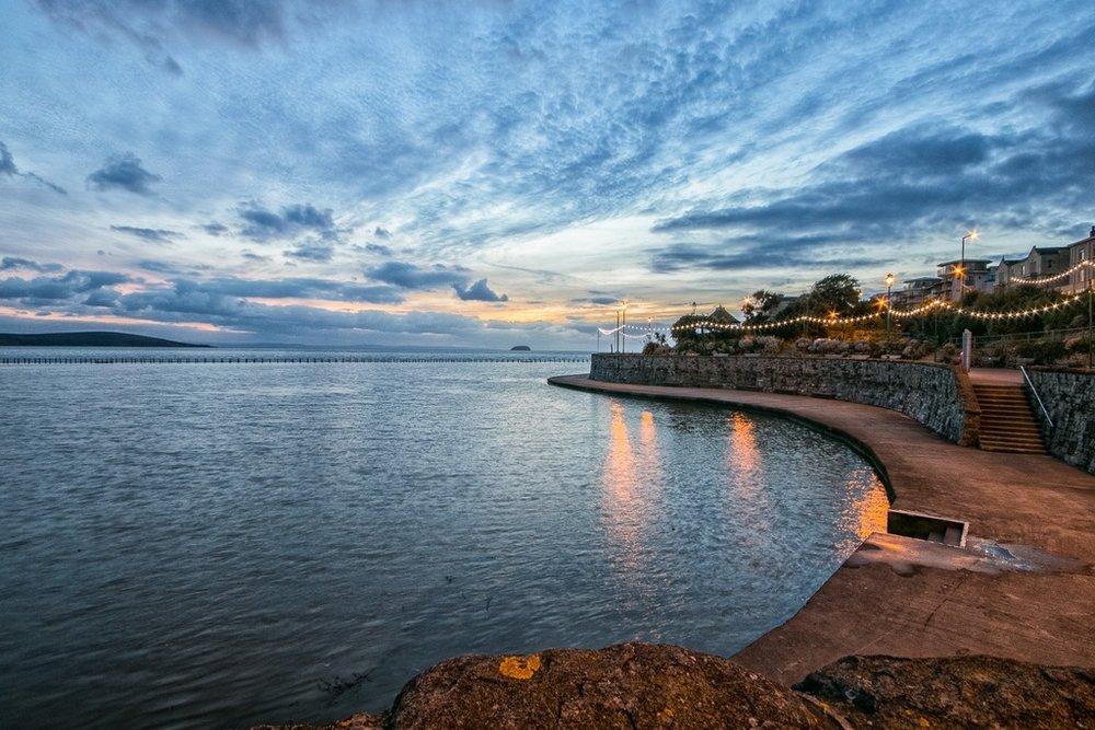 Blue hour at Marine Lake © Christine Sinclair