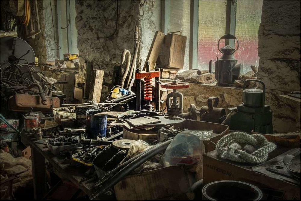 The Old Workshop © Brian Adkins